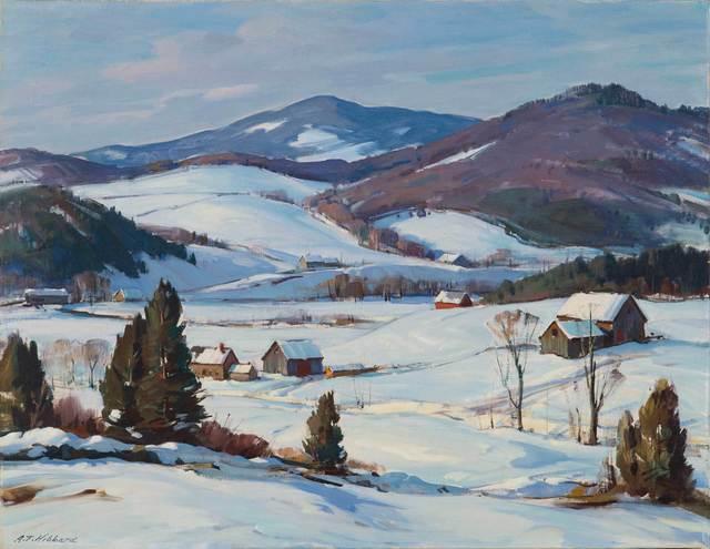 Aldro Thompson Hibbard, 'Mount Mansfield, Vermont', 20th Century, Vose Galleries