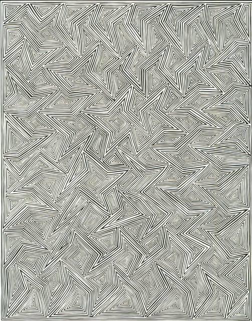 James Siena, 'Shifted Alternating Connections', 2000, Museo de Arte Contemporáneo de Buenos Aires
