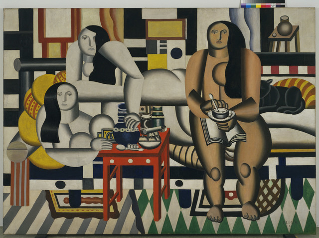 , 'Three Women (Le Grand Déjeuner),' 1921, Fondation Louis Vuitton