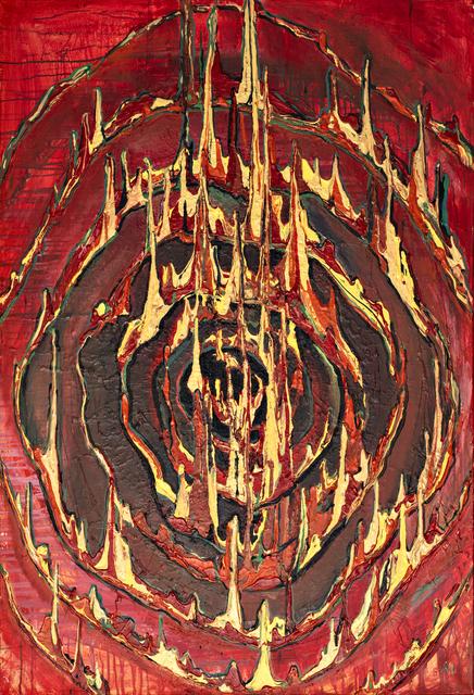 , '3rd PORTAL element FIRE ENTER ELEMENT,' 2018, Renaissance Art Gallery
