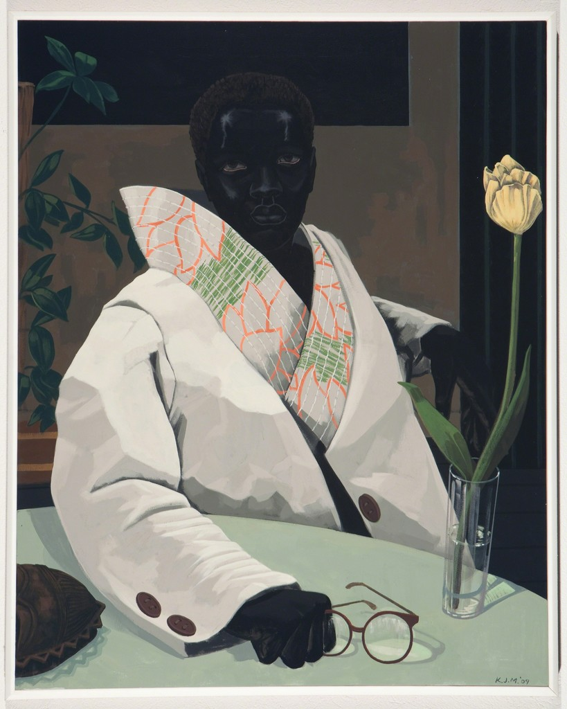 Kerry James Marshall, 'Portrait of a Curator (In Memory of Beryl Wright)