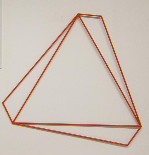 , 'Triângulo vermelho ,' 2001, Galeria Raquel Arnaud
