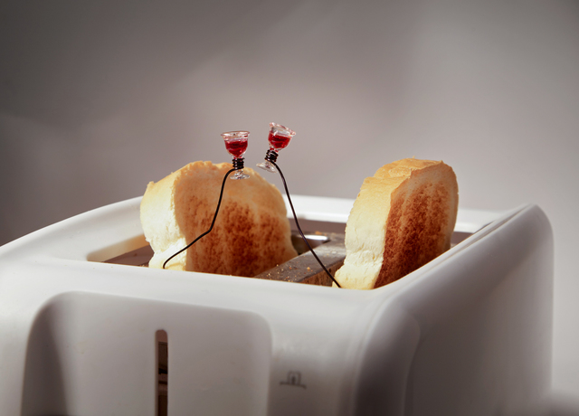 , 'Toast Toasting in A Toaster,' 2010, Savina Museum of Contemporary Art