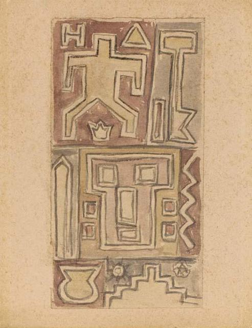 , 'Constructivist,' ca. 1935, Galería de las Misiones