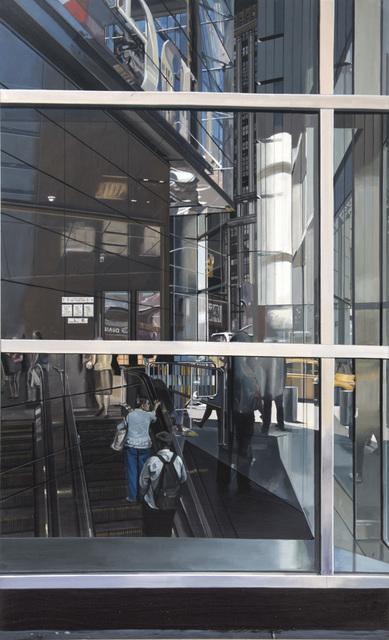 , 'Escalator at Columbus Circle Subway Station ,' 2017, Marlborough Madrid & Barcelona
