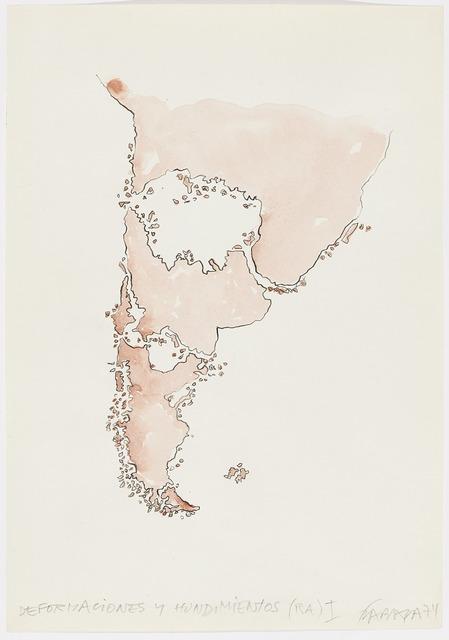 , 'Deformaciones y hundimientos (RA) I,' 1974, Henrique Faria Fine Art