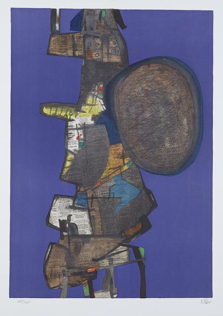 Maurice Estève, ' Bank Street', 1967, Le Coin des Arts