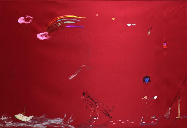 , 'He felt castrated when he met that lesbian woman,' 2013, Galerie Martin Janda