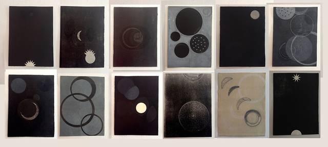 , 'Del libro Negro de la noche II,' 2013, Alejandra von Hartz Gallery