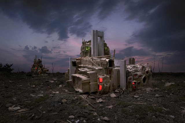 , 'Aftermath,' 2014, arToxin