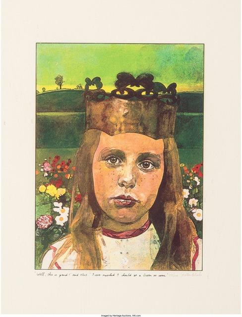 Peter Blake, 'Alice in Wonderland', 1970, Print, Screenprint in colors, Heritage Auctions