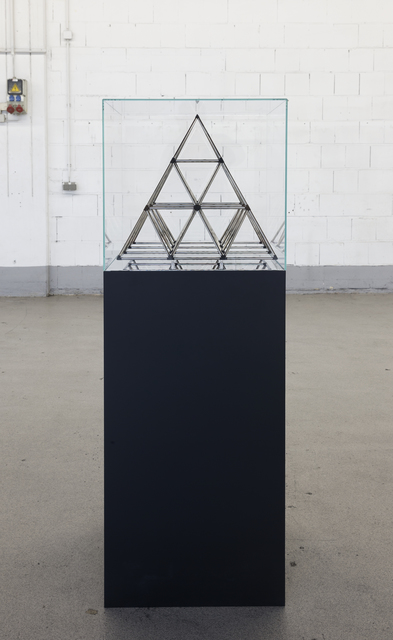 , 'The Hidden Pyramids Within the Cube,' 2013, Meem Gallery