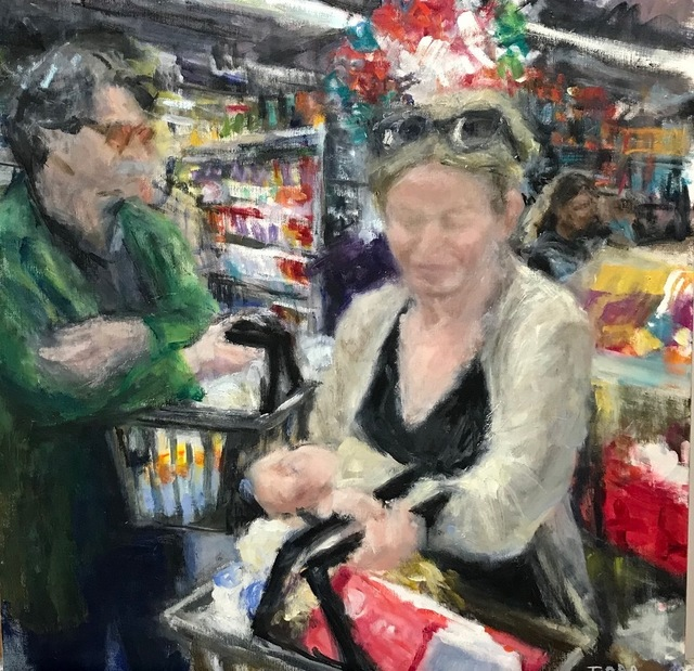 , '5 o'clock at the Stop and Shop,' 2017-2018, Les Yeux du Monde Gallery