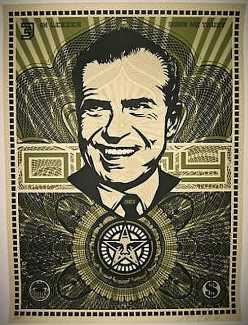 Shepard Fairey, 'Nixon Money', 2003, Gregg Shienbaum Fine Art