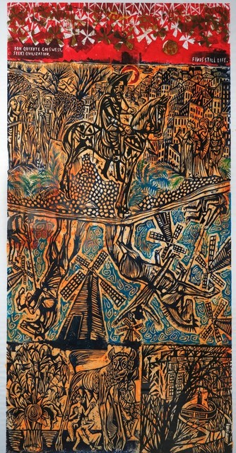 , 'Don Quixote Goes West,' 2019, Arusha Gallery
