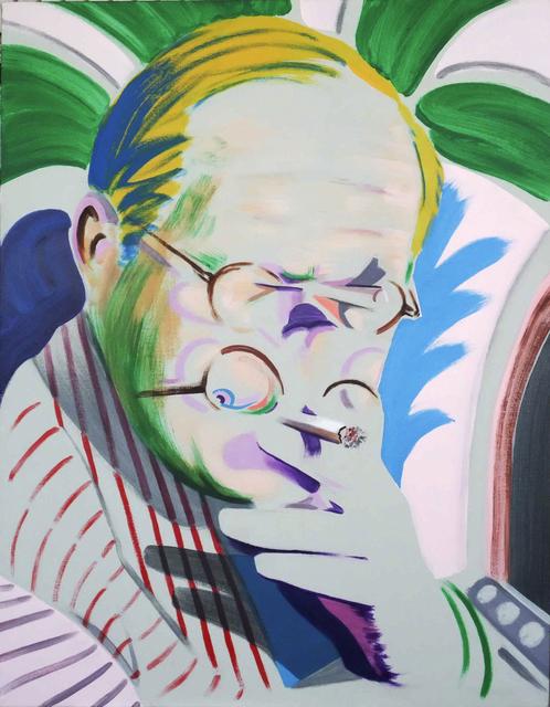 , 'Hockney Takes a Breather II,' 2012, Dellasposa