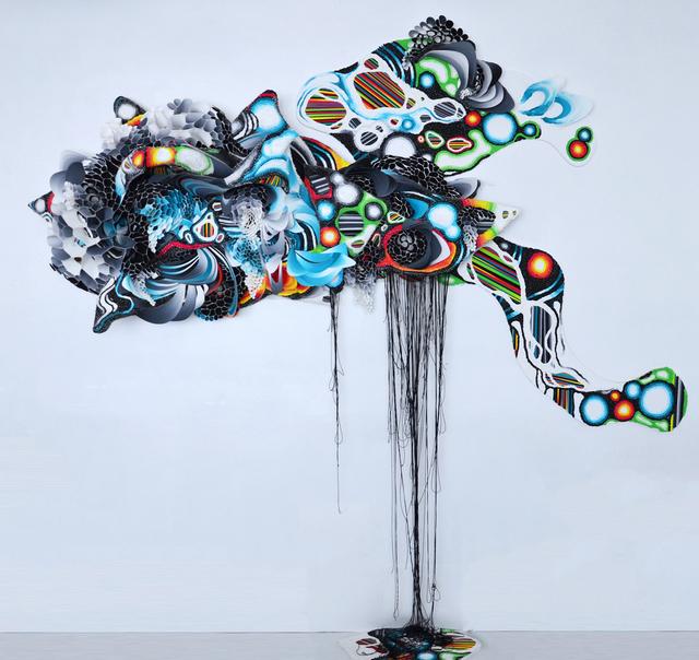 , 'The Entropy Reflex,' 2016, Allouche Gallery