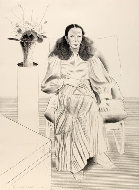 David Hockney, 'Brooke Hopper', 1976, Mary Ryan Gallery, Inc
