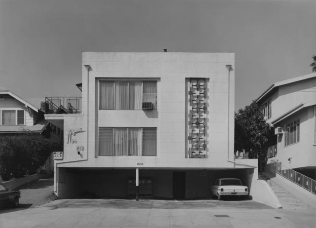 Bevan Davies, 'Aqua, 219, Los Angels, CA', 1976, Photography, Vintage ferrotyped gelatin silver print, Joseph Bellows Gallery