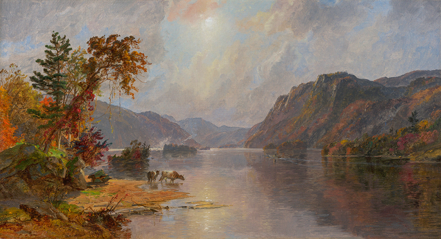 , 'In the Narrows of Lake George,' 1887, Questroyal Fine Art