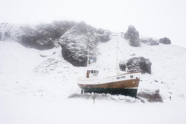 , 'Boat, Snaefellsnes,' 2011, Robert Mann Gallery