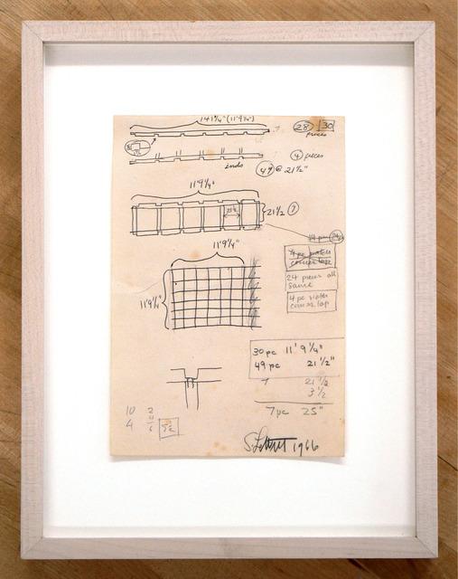 Sol LeWitt, 'Untitled', 1966, Rhona Hoffman Gallery