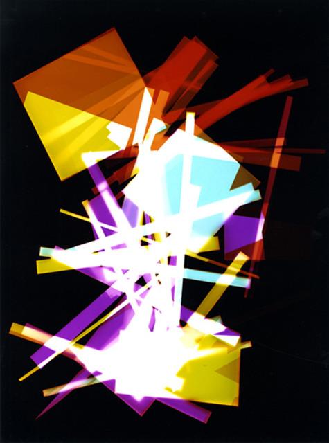 , 'Series I from the color dark room (3),' 2013, Jérôme Poggi