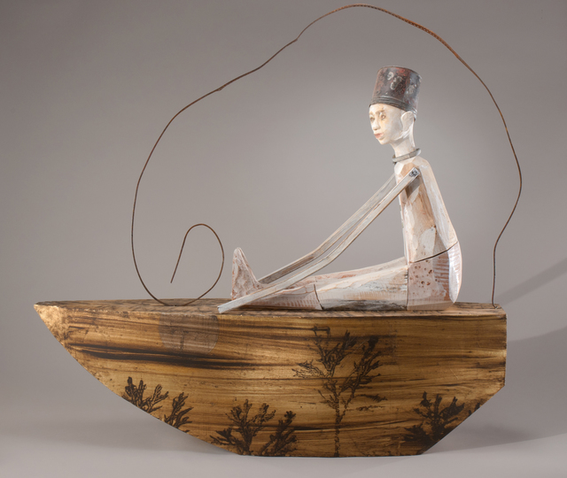 , 'The Boy on the Golden Boat,' 2014, Seager Gray Gallery