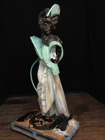 , 'Warrior Mask,' 2015-2017, Nathalie Karg Gallery