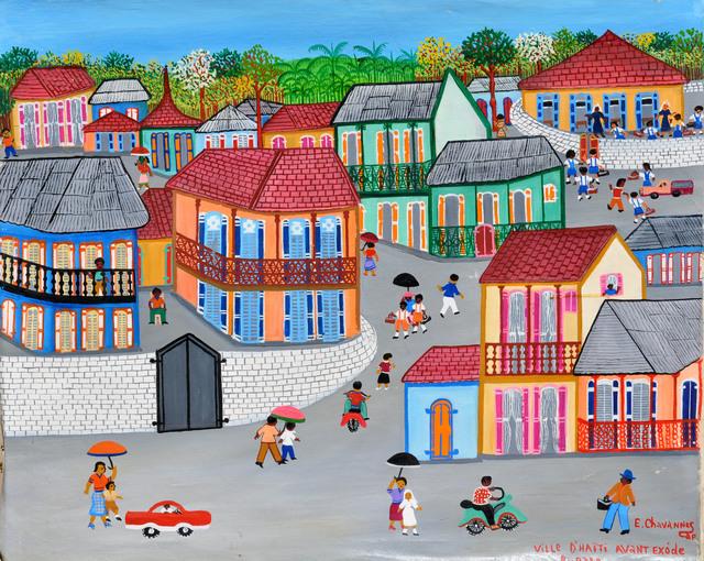 , 'Ville d'Haïti avant l'exode rural,' , Le Centre d'Art d'Haïti