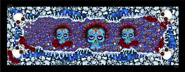 , 'Skulls (Blue),' , Imitate Modern