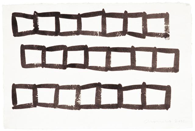 , 'Dibuix 022,' 2001, Galerie Floss & Schultz