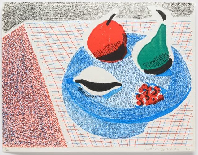 David Hockney, 'The Round Plate', 1986, Leslie Sacks Gallery