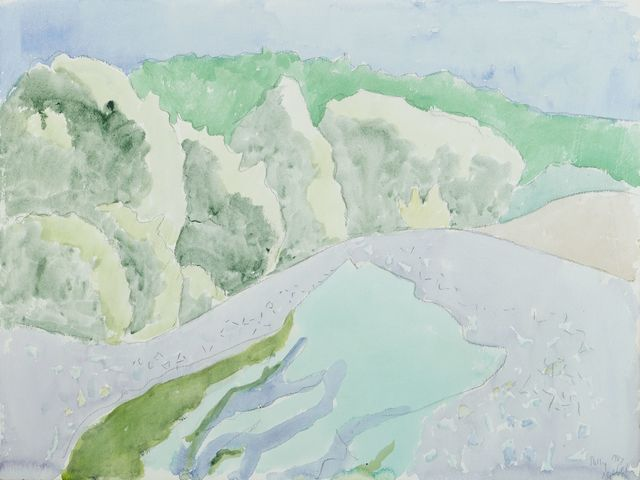 , '[Rolling Hills],' 1987, Childs Gallery