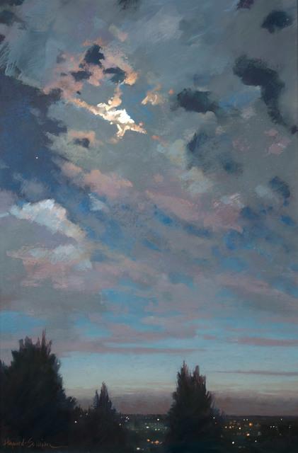 , 'Evening of Interesting Conversation,' 2017, Vose Galleries