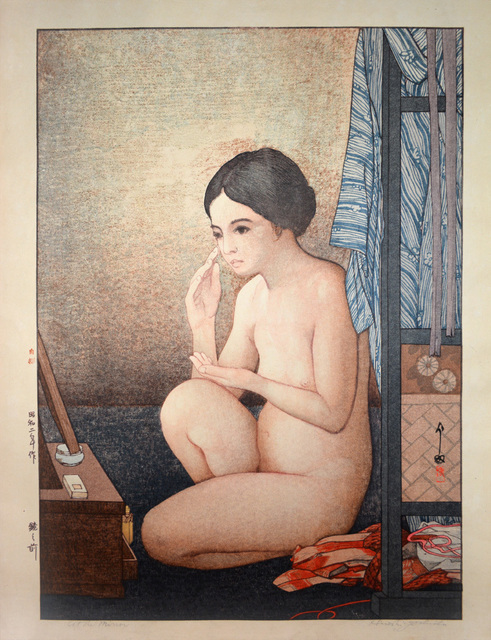 , 'At the Mirror,' 1927, Ronin Gallery