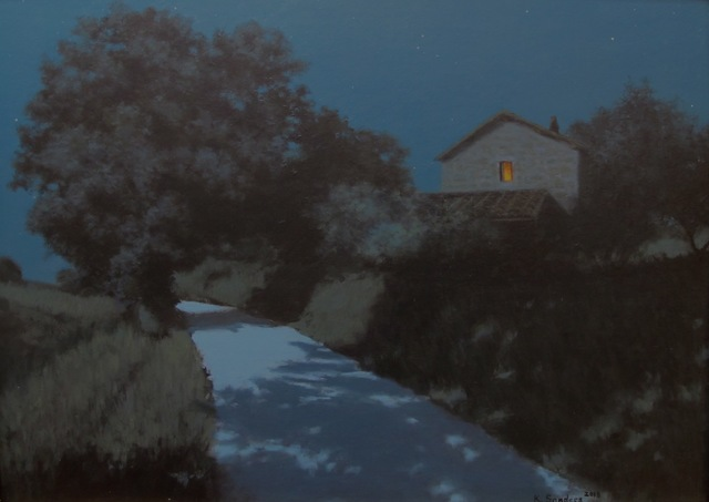 , 'Moonlit Road,' 2013, Grenning Gallery