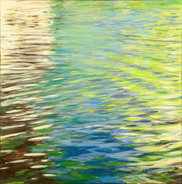 , 'Chartreuse Movement,' 2018, L'Attitude Gallery