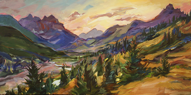 , 'Blackiston Valley Sunset,' 2018, Wallace Galleries