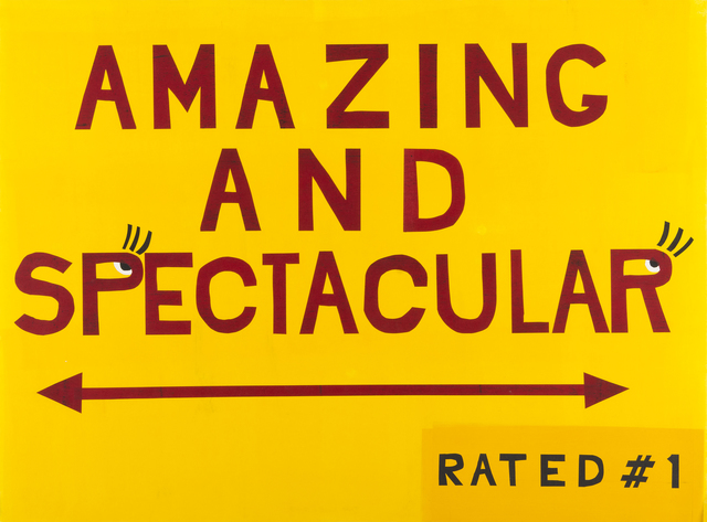, 'AMAZING AND SPECTACULAR,' 2017, Highpoint Editions