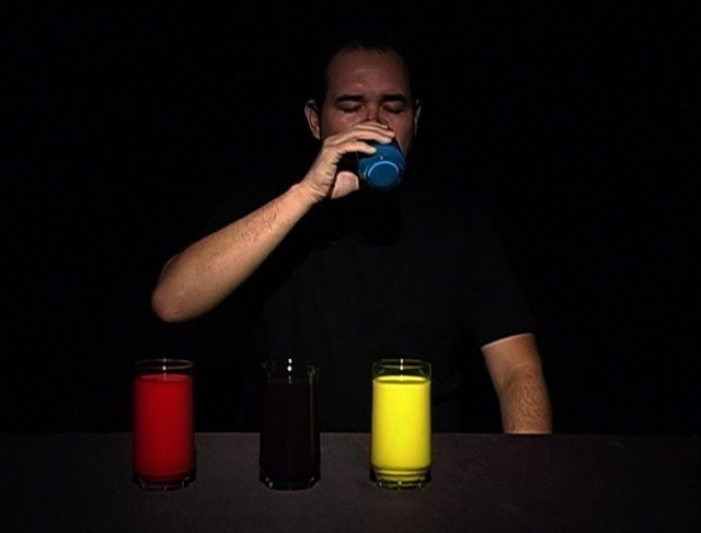 , 'Bebendo Mondrian [Drinking Mondrian],' 2007, Luciana Caravello Arte Contemporânea