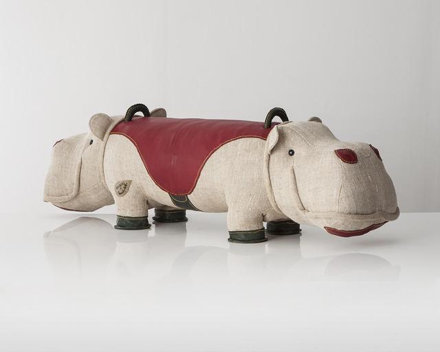 ", 'Double-face ""Therapeutic Toy"" Hippopotamus,' 2013, R & Company"
