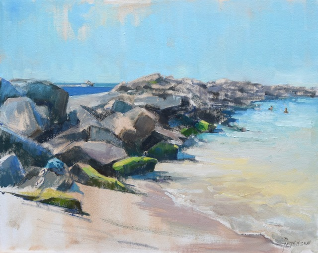 , 'Swimming at the Jetties,' , Beverly McNeil Gallery