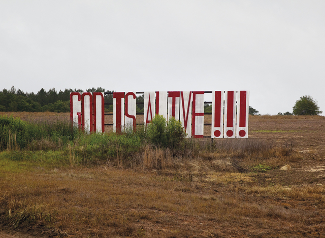 , 'God is alive,' ca. 2010, Benrubi Gallery