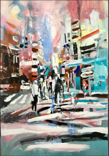 , 'Bushwick Sketches Series (1),' 2016, Woodward Gallery