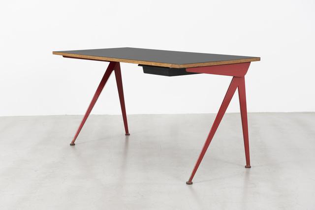 Jean Prouvé, 'Secretary desk with compas base', ca. 1953, Galerie Patrick Seguin