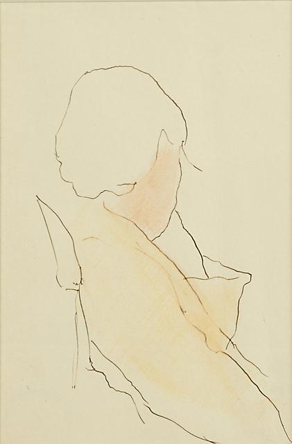 Joseph Stella, 'Untitled (Sketch of a Woman)', Rago/Wright
