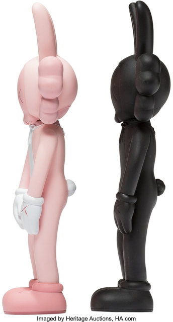 KAWS, 'Accomplice, set of two', 2002, Sculpture, Painted cast vinyl, Heritage Auctions