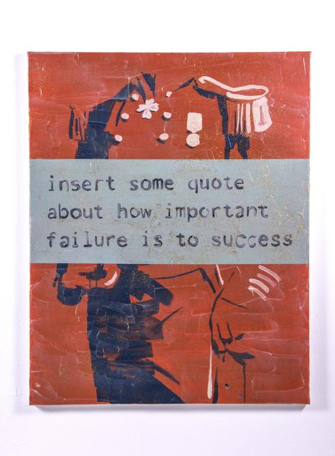 , 'Ticket 4,' 2017, Hans & Fritz Contemporary