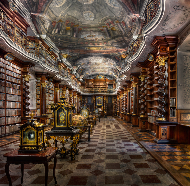 , 'Baroque Library Hall, Clementinum | Prague,' 2015, UNIX Gallery